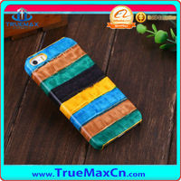 2014 New Product! Rainbow Case For iPhone 5s, Cow leather case for iPhone 5s