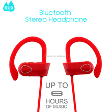 RU9 The Latest Headphone Bluetooth Sports Wireless For TV With Multi Colors For Girls.