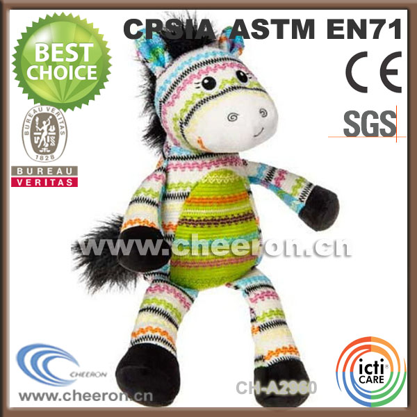 Large selectin of cute and cuddly plush walking horse
