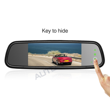 Excellent feedback 7 inch car rear view mirror monitor