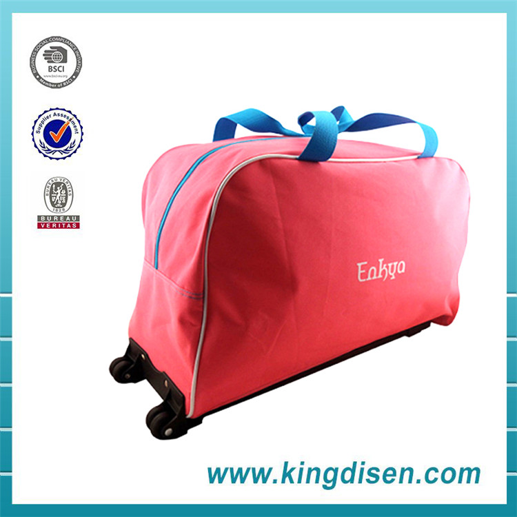 Cheap price sports parts travel trolley bag for bag sizes