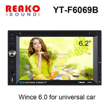 "manufacturer 6.2"" HD car dvd gps navigation system with radio dvb-t usb gps"