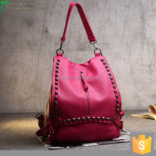 2016 latest fashion leather vintage leather travel bag Beautiful Ladies Handbags