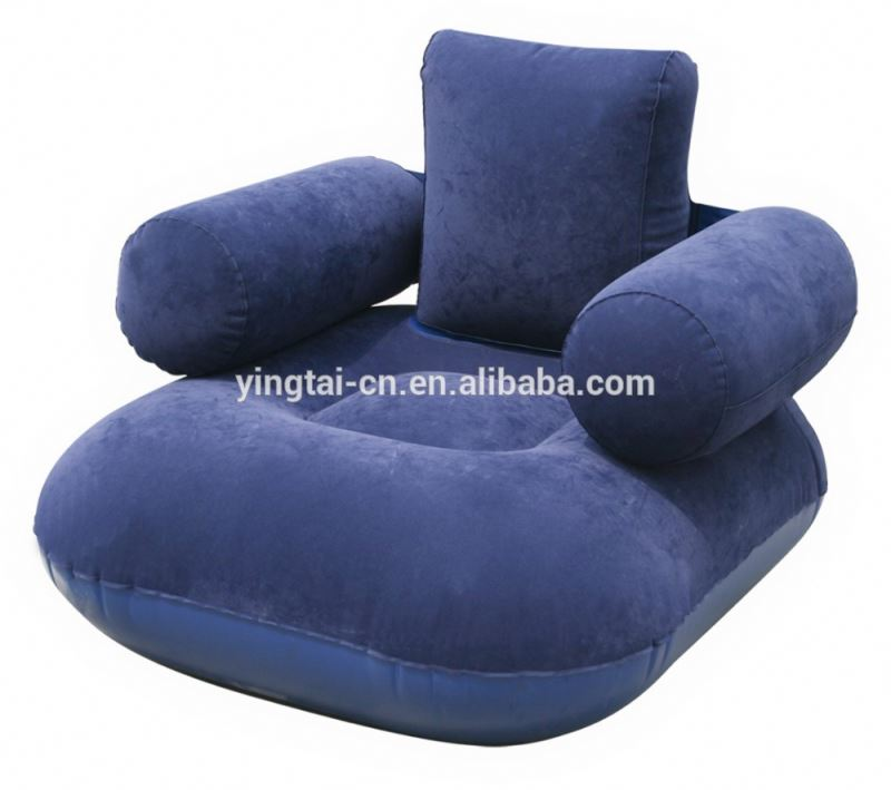 giant inflatable sofa pvc flocked inflatable outdoor sofa