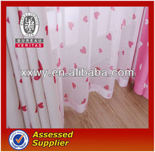 New environmental protection polyester design sliding window curtain