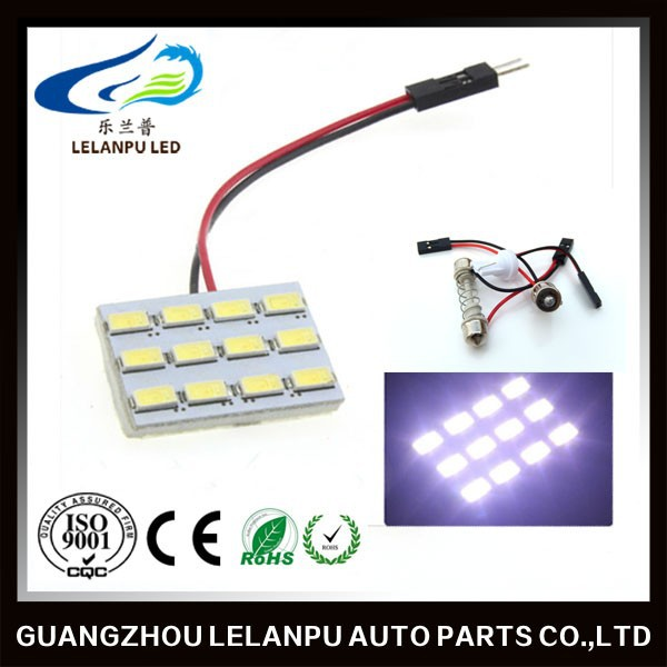 led 12smd 5630 led auto led roof lamp