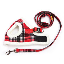 Fashion Winter Pet Houndstooth Pattern Dog Harness Dog Sport Harness Wholesale Pet Products Pets Supplies