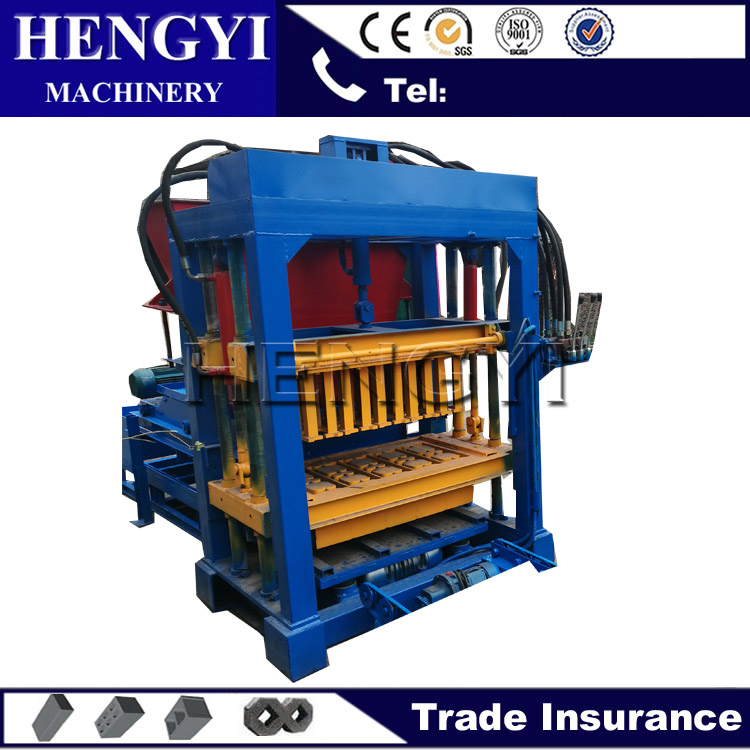 Small Hydraulic concrete automatic brick manufacturing machine in india/ecological brick machine/block machine for sale