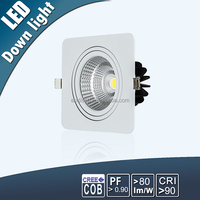 Top Quality Competitive Price Recessed Led COB Downlight 30w Dimmable High End COB Gallery Led Downlight