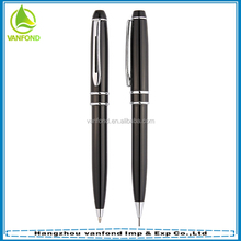 High grade promotional gift pen set ,heavy metal pen and pencil set
