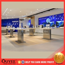 Professional Custom Modern mobile phone retail Computer Shop store Interior Design fixture