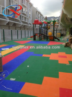 Outdoor Kids Playground Interlocking Flooring