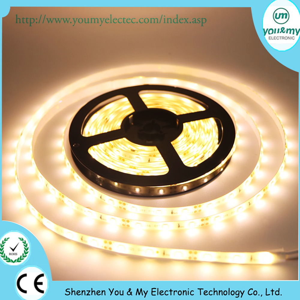 DC 12V Dimmable Flex Flexible 60LED/M SMD 2835 IP65 Floor Lighting Flexible IP 65 Waterproof LED Strip Light