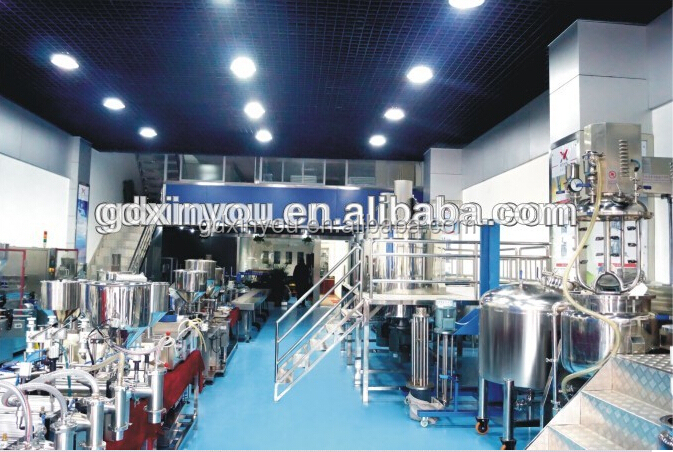 GUANGZHOU FACTORY PRICE FOR SHAMPOO MAKING MACHINE