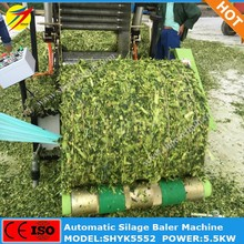 Hot cattle feed silage ball bundling trusser machine for farming
