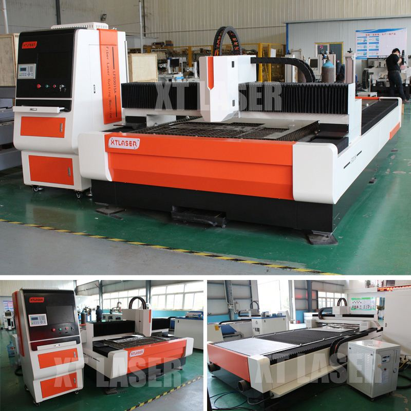 Auto Feeding Fiber Laser Cutting Machine with Double Head
