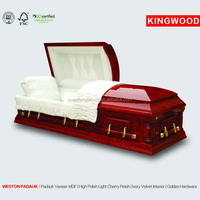 WESTON PADAUK conffin handle and beds direct buy china