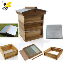 China Custimized Red Cedar British Beehive UK Bee Box with National Pine Wood Bee Hive Frames