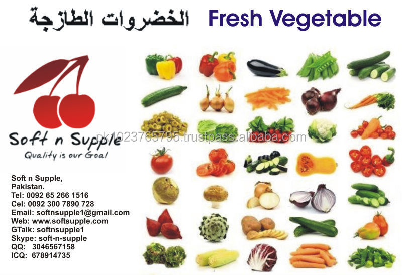 Fresh Vegetables Mixed