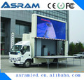 Outdoor Usage and Full Color Tube Chip Color mobile led truck