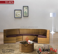 High quality outdoor/indoor furniture classic style cheap rattan sofa set