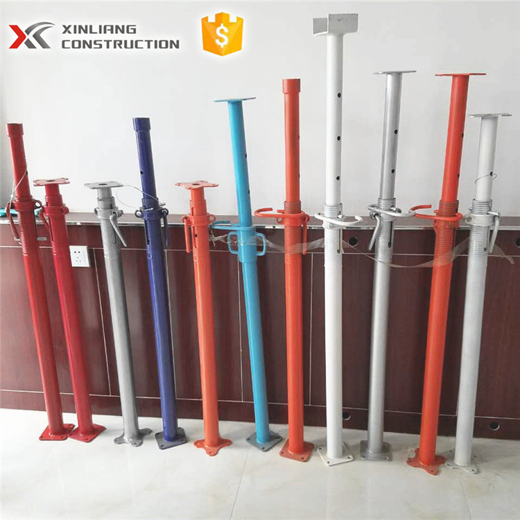 scaffolding u-head jack steel shoring prop pole support for building