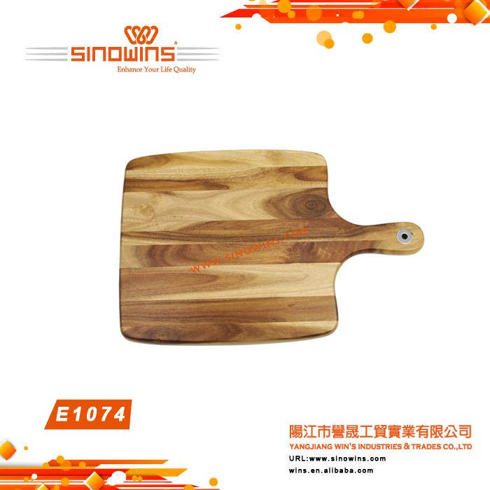 E1074 Wholesale Wooden Chopping board Acacia Wood Cutting Board