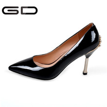 Fashion Lady Sexy Pointed Toe Sandals Studded pearl High Heels