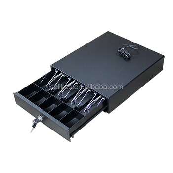 LKS-D335 335*380*80mm adjustable 4bill 5coin slots electronic pos cash drawer