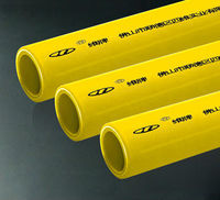 5 layers butt-welded multilayer PE-AL-PE pipe special used for gas transmit (16-32MM)