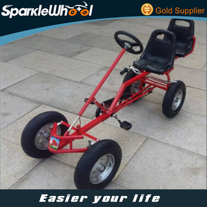 2 seat pedal go kart for adults