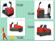 China supply tractor with water-prooft design, 2t0n-6t0n electric two tractot suitable for warehouse and container for sale