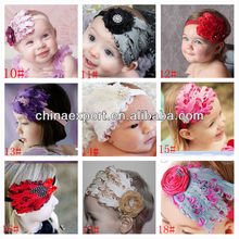 NEW COMING!!! 2013 whoelsale fashion top baby feather fascinator headband