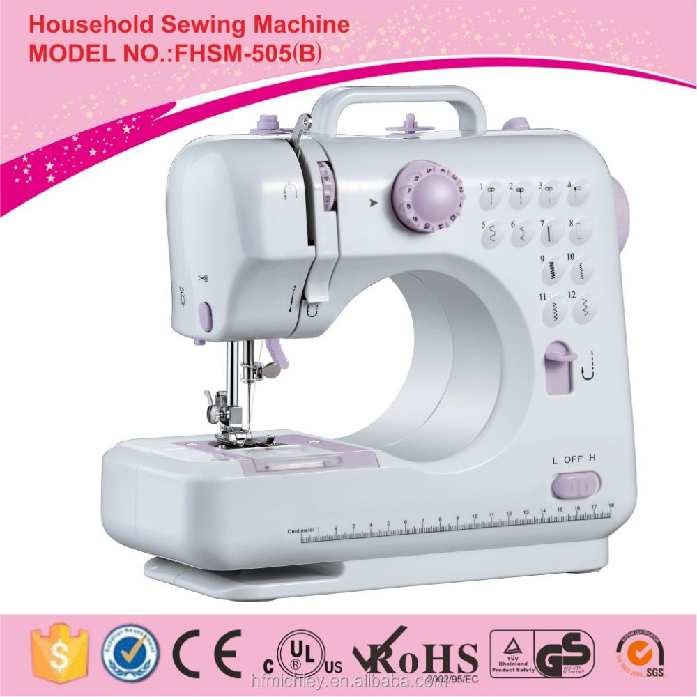 Fanghua brand mini electric sewing machine FHSM-505 domestic overlock sewing machine