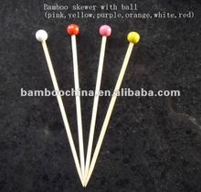 dyed ball pick/stick/skewer