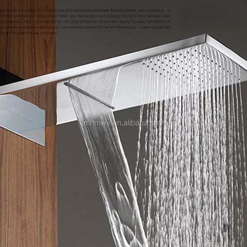 Shower Set Dual Functions Rainfall Waterfall Rain Shower