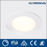 Top quality led lighting fixtures of ceiling panel led 10w with CE RoHS certification