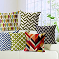 New Modern Geometric Sofa Seat Cushion Covers