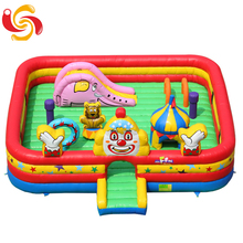 Factory wholesale jumping bouncer bed children indoor inflatable castle