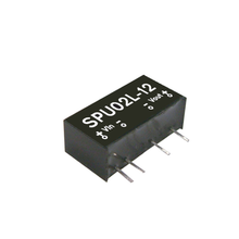 Taiwan Meanwell DC-DC <strong>module</strong> power SPU02M-05 <strong>1W</strong> 12V to 5V non - stabilized single output