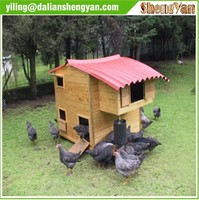 Waterproof chicken coop , Wood chicken coop
