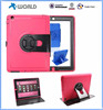 New design high quality 360 Rotation anti-crash tablet case for ipad mini, PU case TPU case