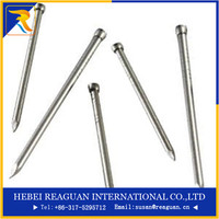 smooth shank galvanised iron finishing nails