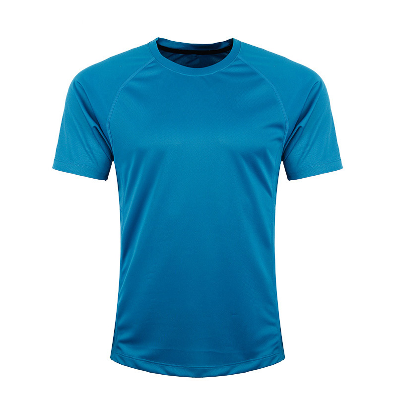 Hot sale different color latest designs fitness sublimation cheap blank t-shirt