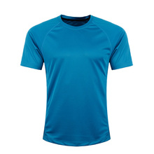 Hot sale different color latest <strong>designs</strong> fitness sublimation cheap blank t-shirt
