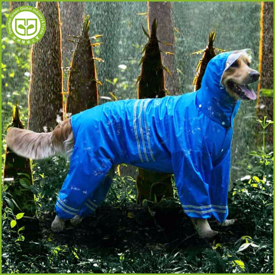 PDCR2 2017 new style fashionable pet dog raincoat