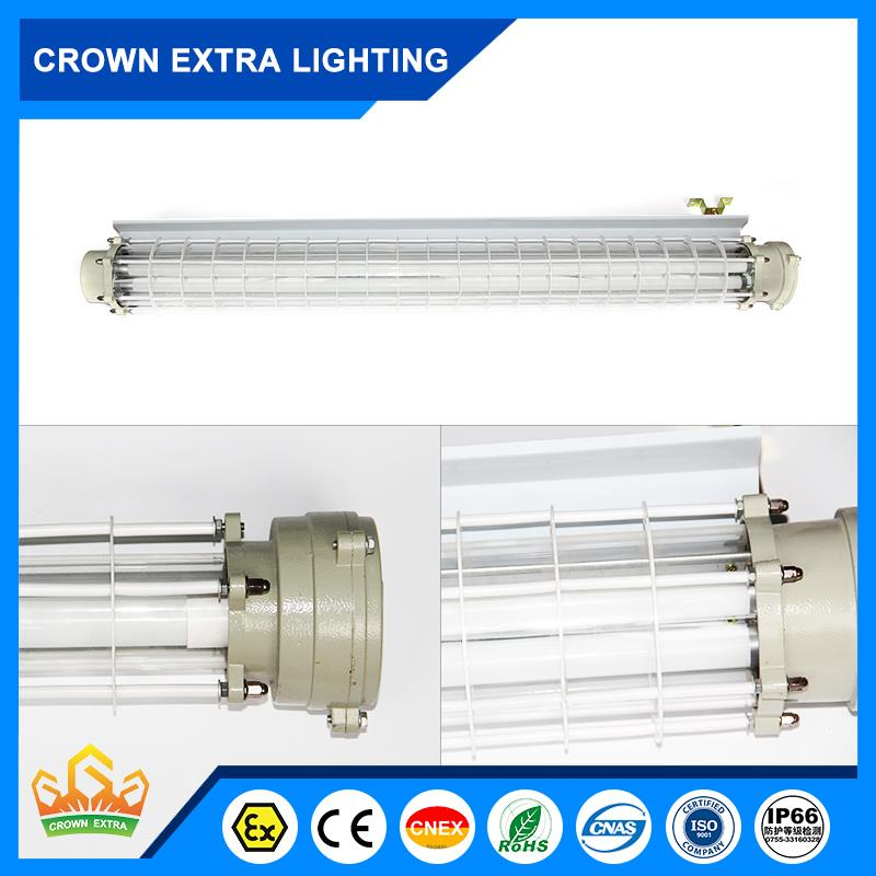 BPY Hot selling 2.4m flameproof led lighting fixture made in China