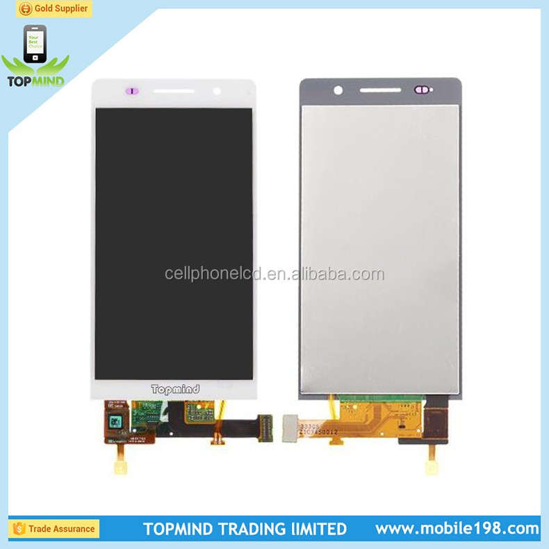 Tested one by one Complete LCD Display for Huawei Ascend P6 LCD Display Screen