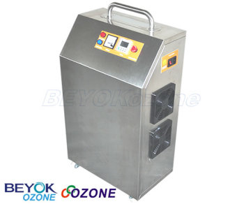 Wheeled Ozone Generator 25 g Water Purification GQO-C40G