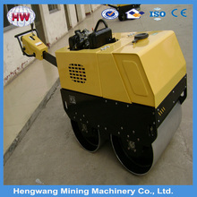 hengwang 2016 small double drum road roller 3tons for sale used mini road roller price